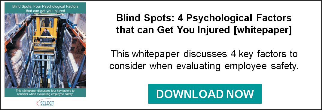 Blind Spots: 4 Psychological Factors That Can Get Your Injured