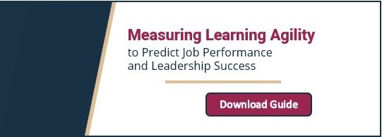Measuring Learning Agility in Leaders
