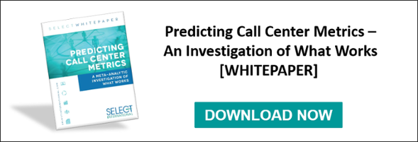 predicting call center metrics