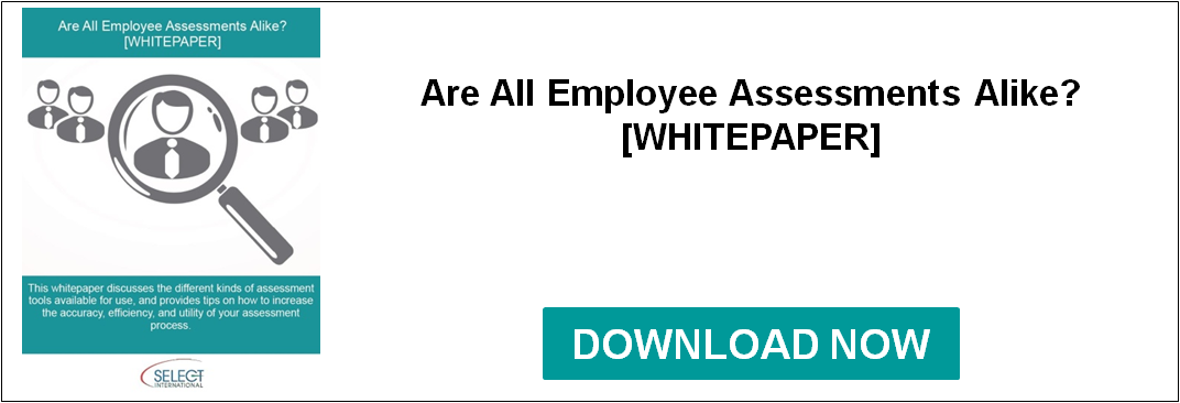 Are All Employee Assessments Alike?