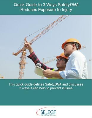 Quick Guide to 3 Ways SafetyDNA Reduces Exposure to Injury