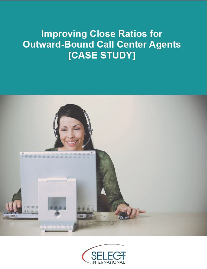 Improving Close Ratios for Outward-Bound Call Center Agents [CASE STUDY]