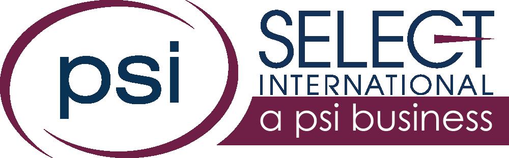 PSI Select International Logo