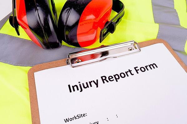 safety leader injury report